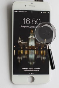 Битый пиксель iphone