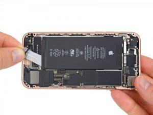 быстрая замена аккумулятора iPhone 8