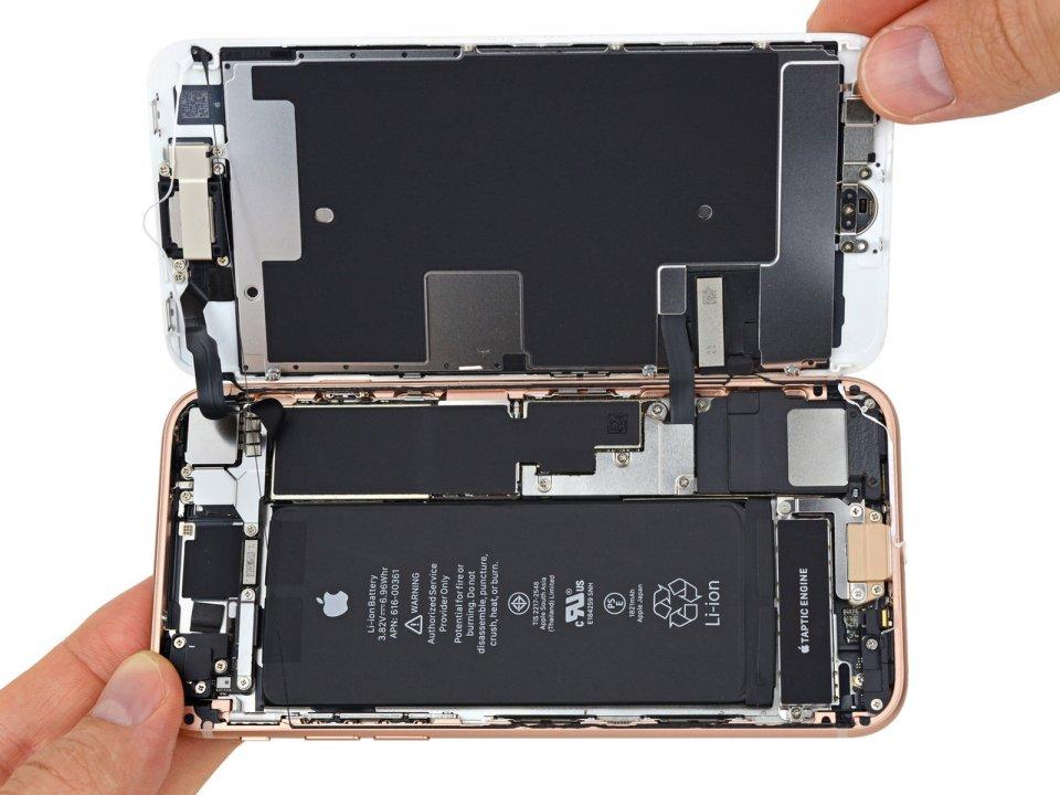 Замена экрана оригинал iphone 8