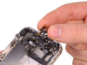 Замена слухового (разговорного) динамика iPhone 4/4s