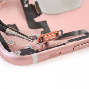 Замена кнопок громкости и переключения вибро айфон 8