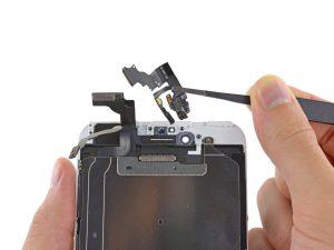 Замена фронтальной камеры айфон 6