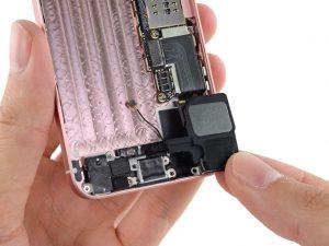 Замена полифонического динамика iPhone SE