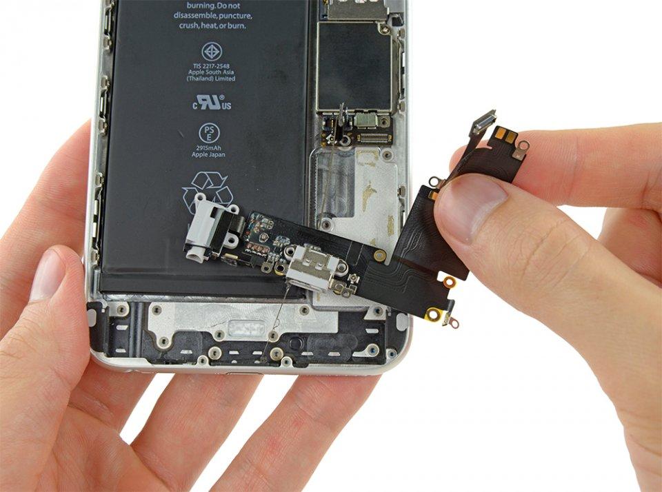 iphone 6 plus замена разъема зарядки