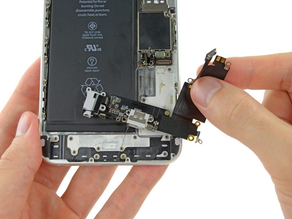 iphone 6s plus замена разъема зарядки
