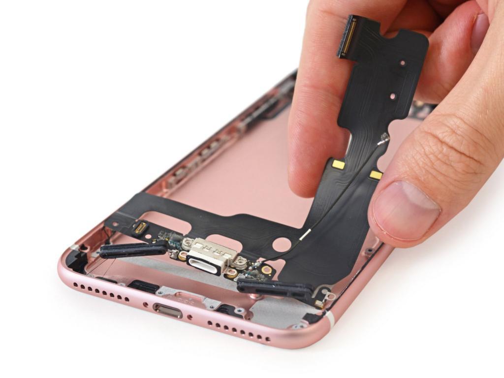 замена разъема зарядки iphone 8