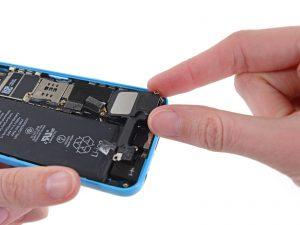 iphone 5c замена динамика