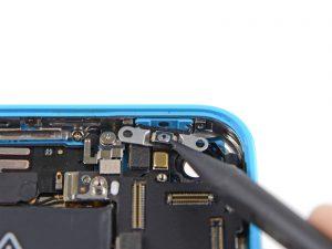 iphone 5c замена кнопки включения