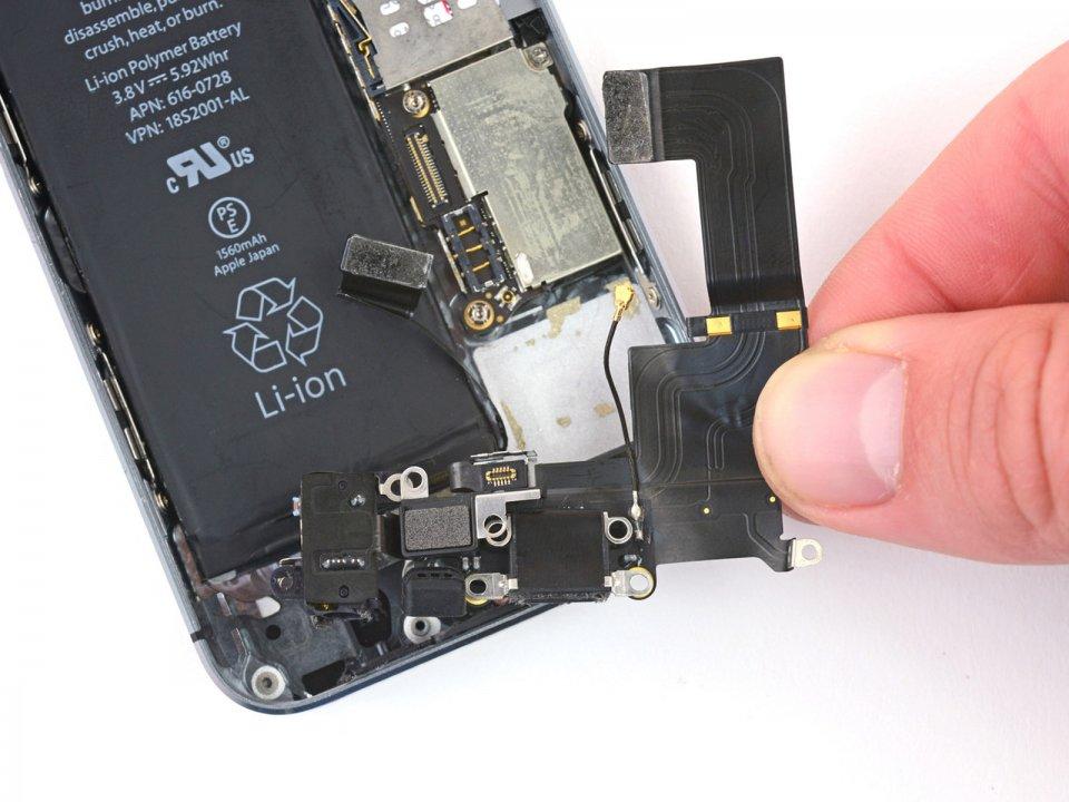 iphone 5s замена разъема зарядки