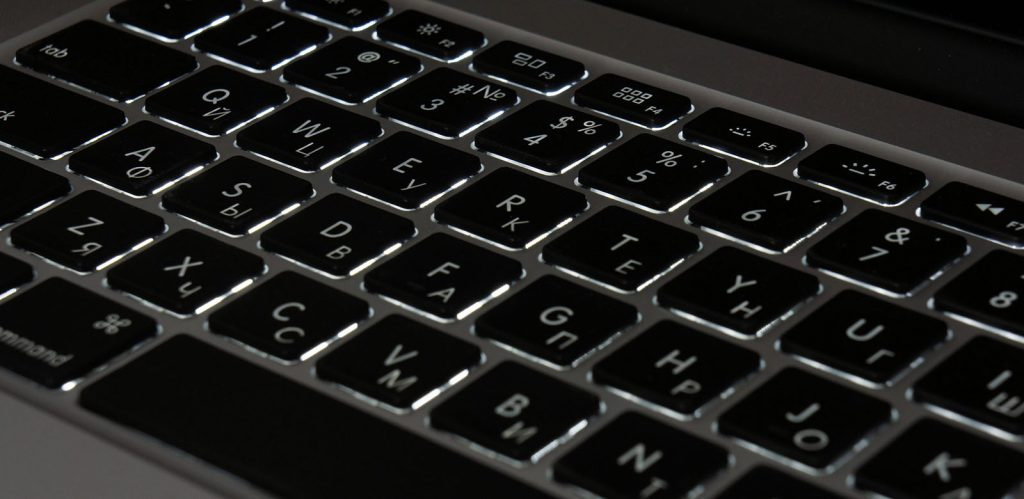 macbook air замена подсветки клавиатуры
