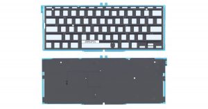 macbook эйр замена подсветки клавиатуры