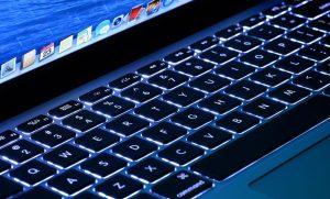 макбук эйр замена подсветки клавиатуры