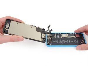 разбор iphone 5C