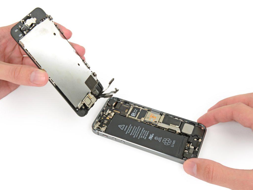 iphone 5c замена микрофона